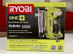 Ryobi P318 18-Volt ONE+ AirStrike 23-Gauge Cordless Pin Nailer Gun Tool Only New