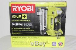 Ryobi P318 18V ONE+ Li Cordless AirStrike 23-Gauge 1-3/8 Headle Pin Nailer BARE