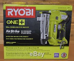 Ryobi P318 23 gauge 18v Cordless Pin Nailer One + Technology Brand NEW in Box