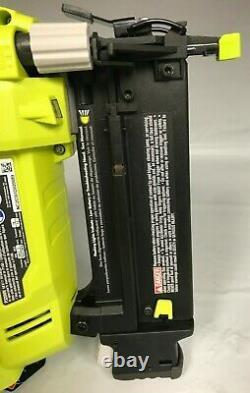 Ryobi P320 18-Volt ONE+ Lithium-Ion Cordless AirStrike 18Gauge Brad Nailer N