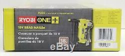 Ryobi P320 Airstrike 18 Volt One+ Li-on Cordless 18-Gauge Brad Nailer Tool-Only