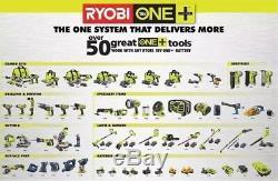 Ryobi P320 One+ Air Strike 18-Volt 18-Gauge Brad Nail Gun Bare Tool New See Pics
