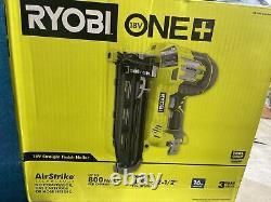 Ryobi P325 18-Volt ONE+ AirStrike 16-Gauge Cordless Straight Nailer (BM)