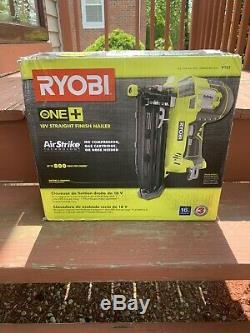 Ryobi P325 18V ONE+ Li-Ion Cordless 16-Gauge Straight Finish Nailer Tool Only