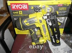 Ryobi P325 ONE+ 18V Cordless AirStrike 16-Gauge 2-1/2 in. Straight Finish Nailer