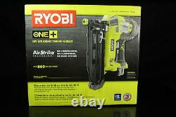 Ryobi P325 One+ 18V Lithium Ion Battery Powered Cordless 16 Gauge Finish Nailer