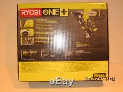 Ryobi P330 ONE+ 18-Volt 15-Gauge AirStrike Cordless Angled Nailer-F/SHIP-NISB