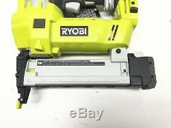 Ryobi P360 18V ONE+Cordless AirStrike 18-Gauge Narrow Crown Stapler LOT 0858