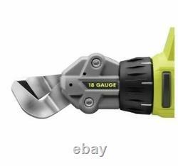 Ryobi P591 ONE+ 18V 18 Gauge Offset Shear Sheet Metal Saw (Tool ONLY) Cordless