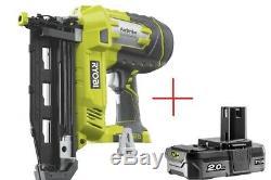 Ryobi R18N16G-0 One + 18v 16 Gauge Nailer + 2Ah battery Bargain! Cheap
