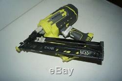 Ryobi p330 Cordless Angled Nailer Nail Gun 18 Volt ONE+ Airstrike 15-Gauge