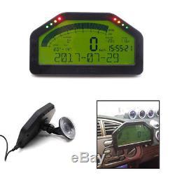 SUV Dashboard LCD Screen Rally Gauge Dash Race Display Bluetooth Sensor Kit Well