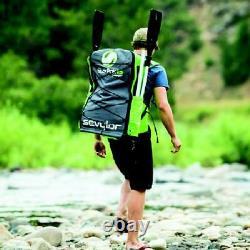 Sevylor Quikpak K5 One-Person Kayak durable 24-gauge PVC material