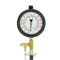 TU-443 Car Truck Manometer Fuel Pressure Gauge Engine Injection Pump Tester Kit