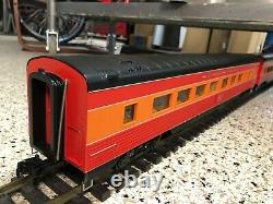 TWO MTH G Scale One Gauge Streamlined Passenger Cars Southern Pacific Daylight