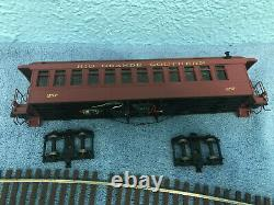 TWO + ONE RGS Rio Grande Southern On3 Passenger Cars Narrow Gauge AMS Accucraft