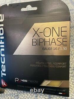 Tecnifibre x-one biphase Gauge 16/1.30