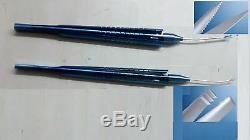 Titanium Osher Snyder Iol Cutting Scissor 18 Gauge & Forceps 22 Gauge Set One