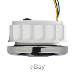 Universal Multifunction Gauge Car GPS Odometer Speedometer For Marine Boat Yacht