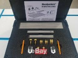 Woodpeckers Modular Bar Gauge System with Trammel Head Set One Time Tool