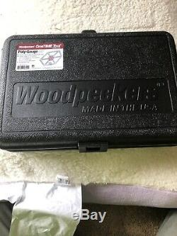 Woodpeckers One Time Tool Polygauge Poly-Gauge SS Brand New