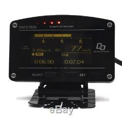 11 En 1 2.5 Kit De Capteur Complet De Jauge D'affichage Pour Tableau De Bord Rally Motorsport