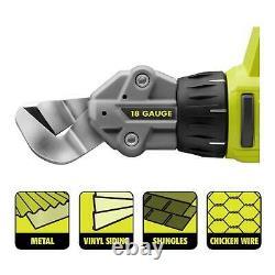 18 Volt One 18 Gauge Offset Shear Cutting Sheet Grip Comfort Variable Speed