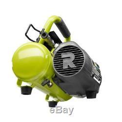 18 Volt One + Sans Fil 1 Gal. Compresseur D'air Portatif Avec 18 Gauge 2-1 / 8 Po. Soutien-gorge