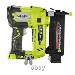 18-volt One+ Cordless Airstrike 18-gauge Brad Nailer (tool Only) + Exemples De Clous
