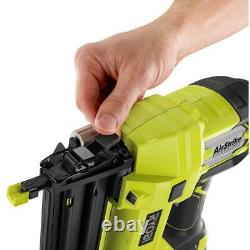 18-volt One+ Cordless Airstrike 18-gauge Brad Nailer (tool Only) W Sample Nails