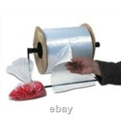 2 4x5 2 MIL Medium Gauge Poly Bags On A Roll (2250/roll)préouverture D'une Extrémité