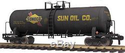 70-73045 Mth One Gauge- Wagon-citerne Unibody Sunoco (# 48452)