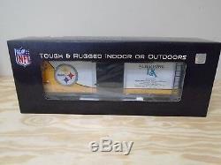 70-74068 Mth One Gauge Les Steelers De Pittsburgh (super Bowl 9) Wagon Couvert De 40 '