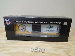 70-74069 Mth One Gauge Steelers De Pittsburgh (super Bowl 43) Coffre De 40 '