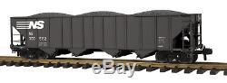 70-75037 Mth One Gauge- Wagon-trémie À 4 Baies De Norfolk Southern (# 300562)