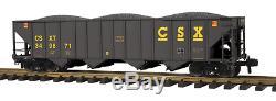 70-75040 Mth One Gauge- Csx (# 349871) Wagon-citerne À 4 Baies