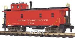 70-77014 Pere Marquette Offset Acier Caboose # A986 Une Jauge Railking