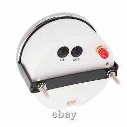 85mm 6in1 Voiture Gps Speedometer Tachometer Water Temp Oil Pressure Voltmeter Gauge