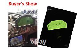 Affichage De La Course De Course De Voiture Obd2 Bluetooth, Jauge De Rallye De Digital D'écran De Tableau De Bord D'affichage À Cristaux Liquides