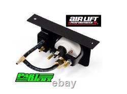 Air Lift One Needle Gauge Panel De Pression Avec Un Interrupteur De Paddle 200 Psi