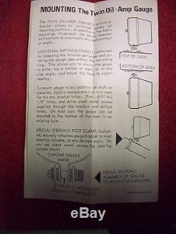 Amplificateur De Pression D'huile De Calibre Deux En Un Nos Sparkomatic Des Années 1960, Dans Son Emballage D'origine