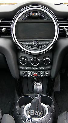 Anneaux Intérieurs Mini Cooper / S / One F55 F56 F57 Blanc Pour Modèles Witho Navigation XL