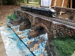 B & O Rr, Viaduc Bloomington, Vers 1853' , Jauge Ho, Vente @ $ 400,00 Dernière