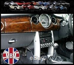 Bmw Mini Ensemble De Garniture Pour Cadran Intérieur, Chrome 2001-2006 Cooper / S / One R50 R52