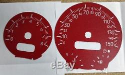 Cadran De Jauge Rouge Pour Mini One Cooper Cooper R50 R52 R53