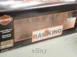 Chemin De Fer King Harley Davidson 70-74040 Coffret De Wagons À Caisses De 40 Pi Nib One Gauge Trains G Mth