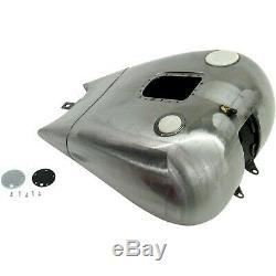 Drag Specialties 011864bx46 Dash Style De Gaz Monopièce Réservoir Avec Jauge De Carburant Bung