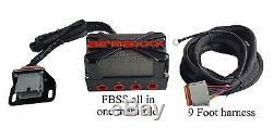 Faisceau De Câbles Pour Collecteur De Vanne Pneumatique X4, Jauges Numériques Et Boîtier De Commutation Avs 7, Noir