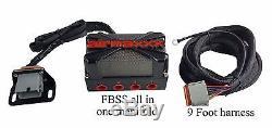 Faisceau De Câbles Pour Manifold De Vanne Pneumatique X4, Manomètres Numériques Chromés, Boîtier De Commutation Avs 7, Noir