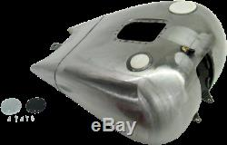 Faites Glisser Dash 2 Style De One-piece Réservoir De Gaz Jauge De Carburant Bung Harley Fxst Withefi 01-06